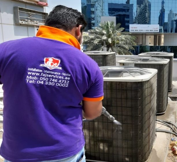 Residential and Commercial AC Repairs | Air Conditioning Service in Dubai | FAJ Services